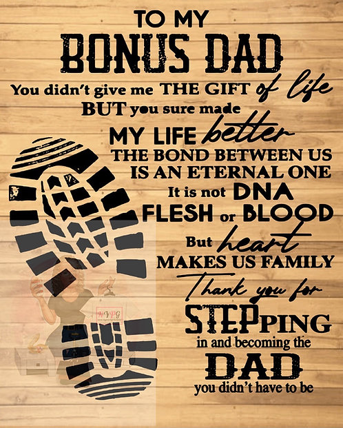 Step dad design only