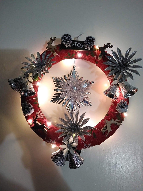 Christmas anyone wreath