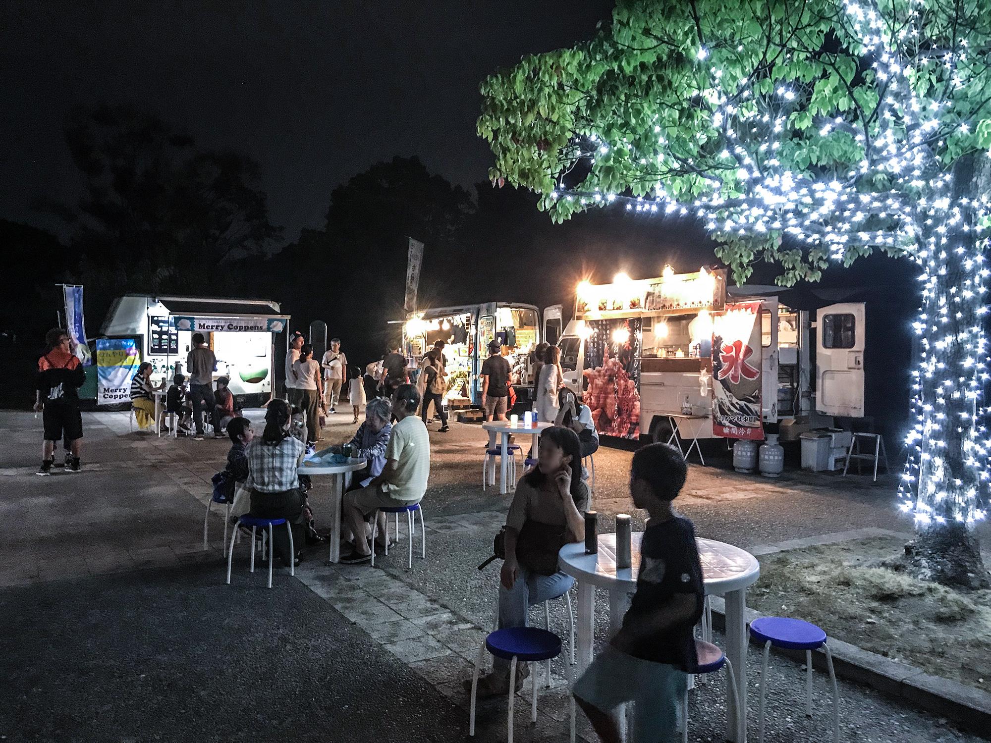 夏の夜空のレストラン2018