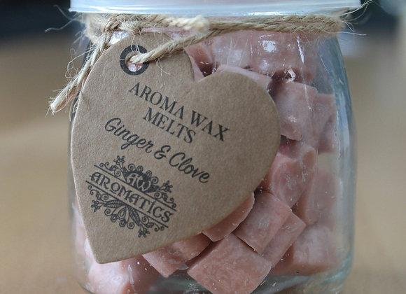 """""""Aroma Wax Melts - Ginger & Clove """" - 250 g"""
