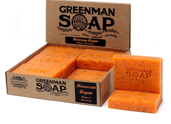 """ Greenman Soap - Moroccan Argan ""- 100g"