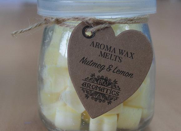 """ Aroma Wax Melts - Nutmeg & Lemon "" - 250g"