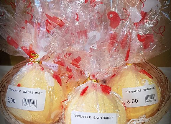""" Pineapple "" Tropical Paradise Coco - bath bomb - 180 g"