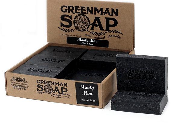 """ Greenman Soap - Manly Man "" - 100 g"