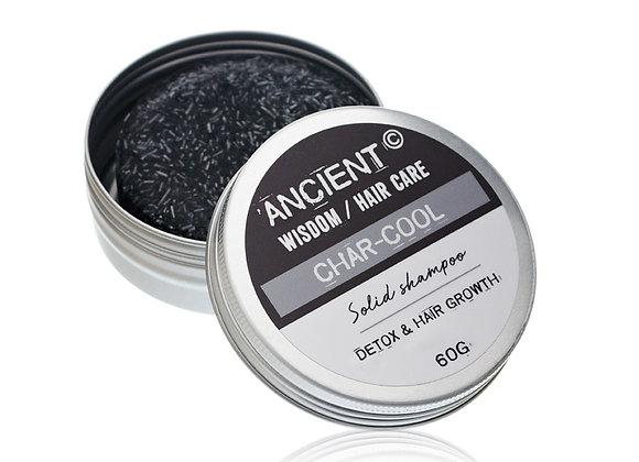 "Solid Shampoo Bar 60g - ""Char-cool Muscle"""