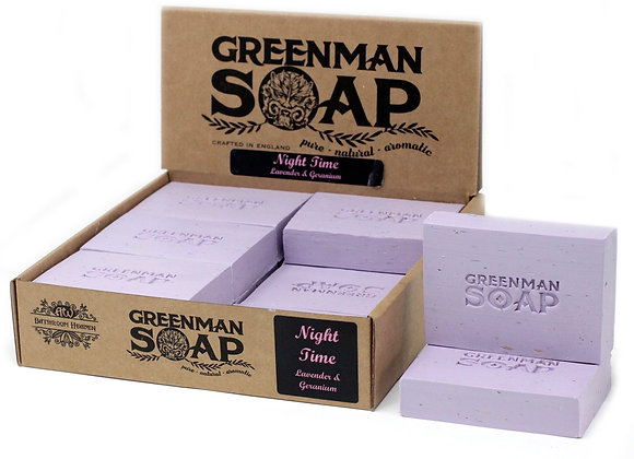 """Greenman Soap - Night Time "" - 100g"
