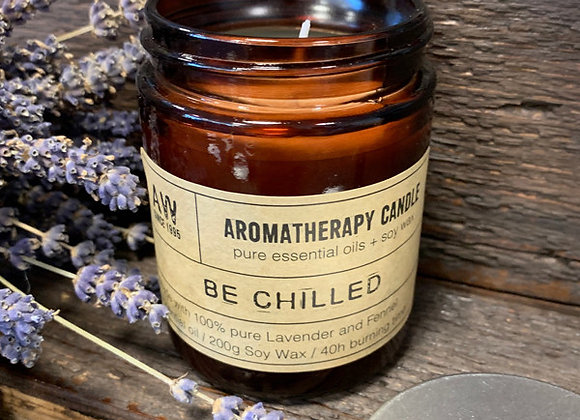 """ Aromatherapy Candle - Be Chilled """