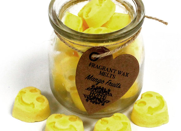 """ Soywax Melts Jar - Mango Fruits "" - 250 g"