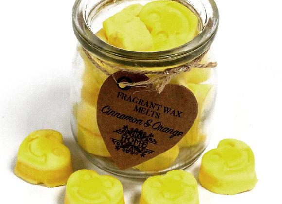 """ Soywax Melts Jar - Cinnamon & Orange "" - 250 g"