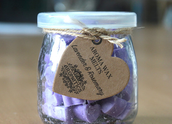 """ Aroma Wax Melts - Lavender & Rosemary "" - 250g"