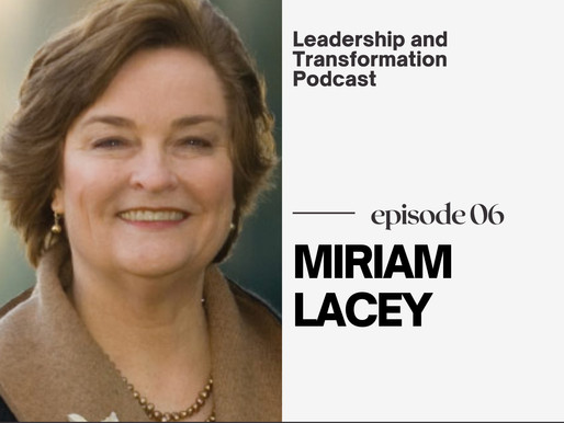 Leadership Excellence Advocate: Miriam Lacey