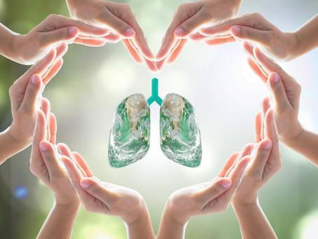 17 de noviembre día internacional de lucha contra el cáncer del pulmón .