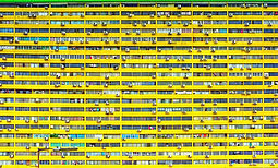 Bright Yellow Residential Building