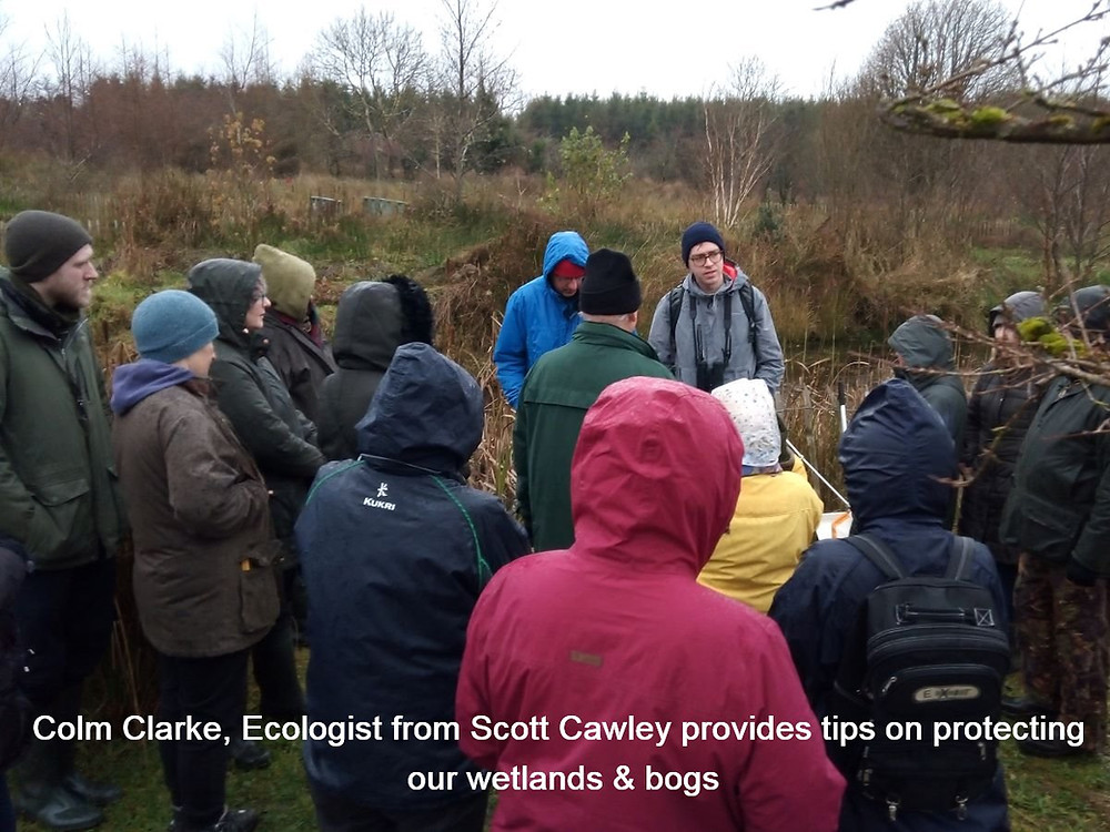 Cavan LEADER biodiversity training participants on field trip to Natures PATCH Network