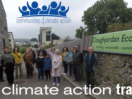Cavan communities becoming Climate ready. 'Communities 4 climate action' training opportunity.