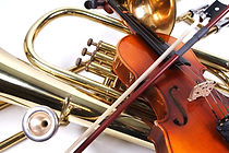 Details of a violin and a trombone.jpg