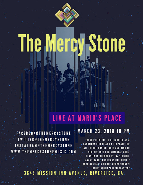 The Mercy Stone - Live at Mario's Place