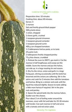 Stuffed Marrow With Marrow Recipe