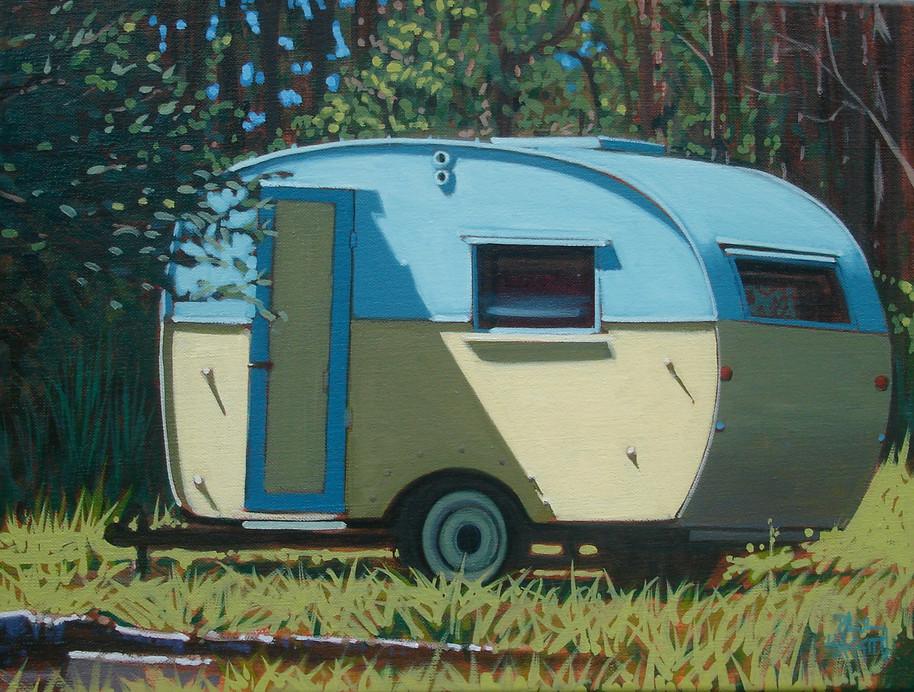 SOLD - 50's Caravan