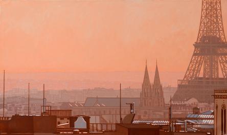 Parisian Sunset, Pompidou View