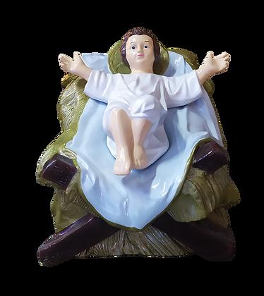 Jesus Presépio I em fibra de vidro