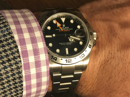 How I selected my first Rolex watch