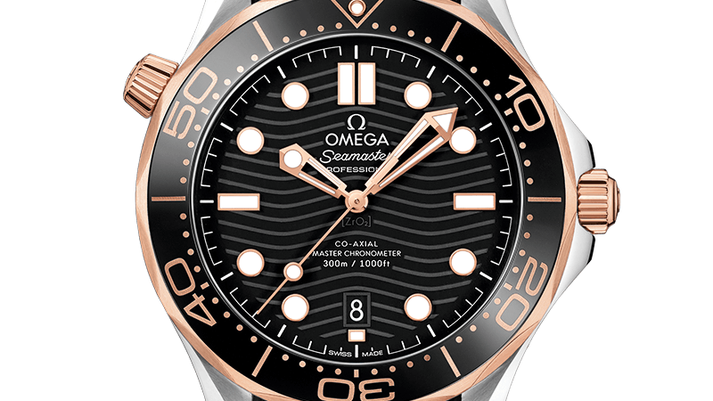 Omega Seamaster Automatic Black Dial Men's Watch 210.22.42.20.01.002