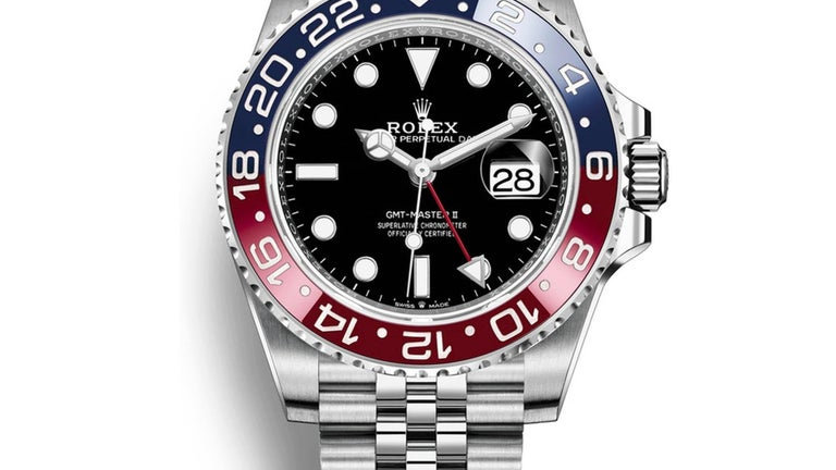 Rolex GMT Master 2 Pepsi Stainless Steel Jubilee 126710BLRO