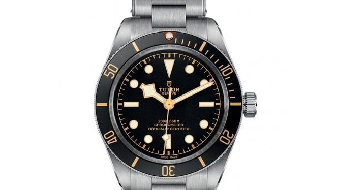 Tudor Black Bay Fifty-Eight Automatic Men's Stainless Steel Watch M79030N-0001