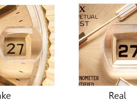 Five ways to spot a Rolex replica