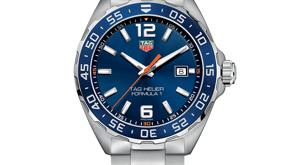 Tag Heuer Formula 1 Blue Dial Men's Watch WAZ1010.BA0842