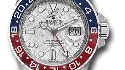 Rolex GMT Master 2 Chrono Meteorite Dial Pepsi M126719BLRO-0002