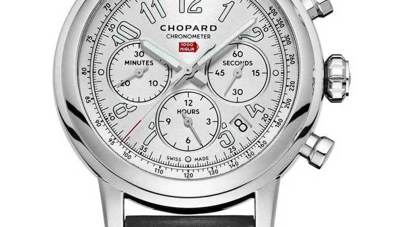 Chopard Mille Miglia Chronograph Automatic Silver Dial Men's Watch 168589-3001