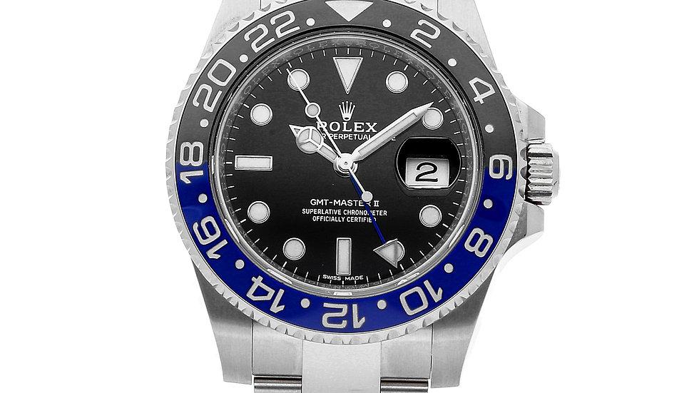 Rolex GMT Master 2 Black Dial Batman Oyster 116710BLNR