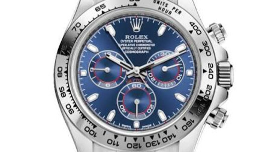 Rolex Daytona 18K White Gold Cosmograph Blue Dial 116509