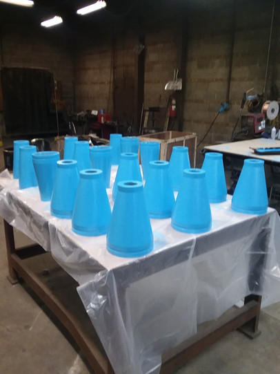 Waste Water Treatment Cones
