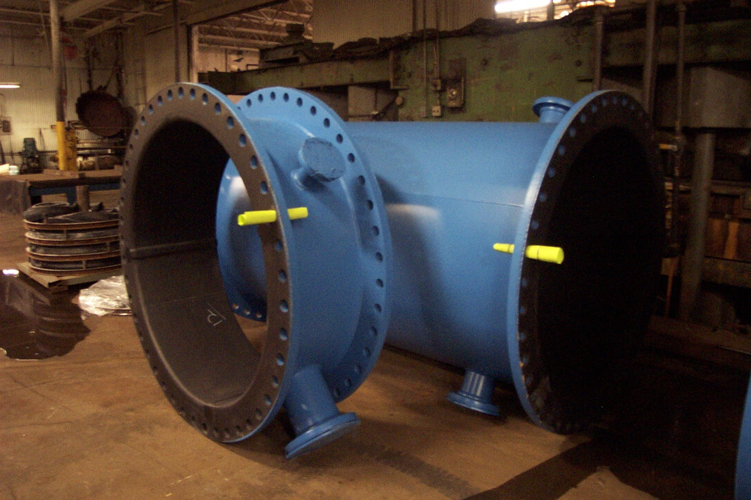 Coated Rubber Lined Pipe