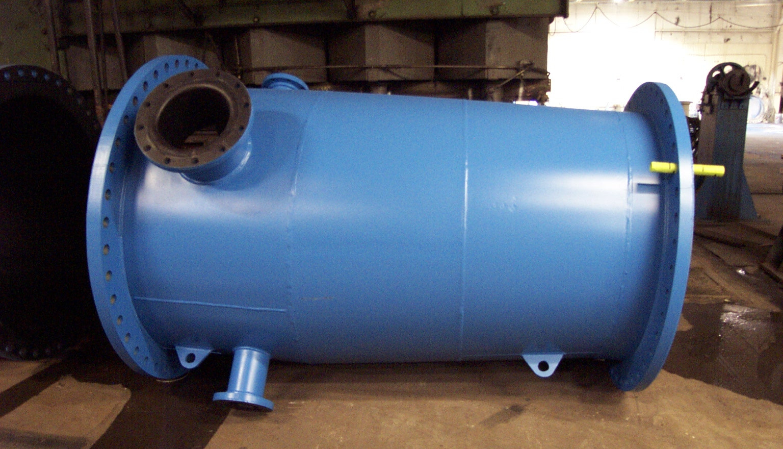 Coated and Lined Pipe Fabrication