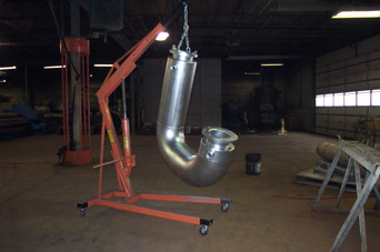 Jacketed Pipe Fabrication
