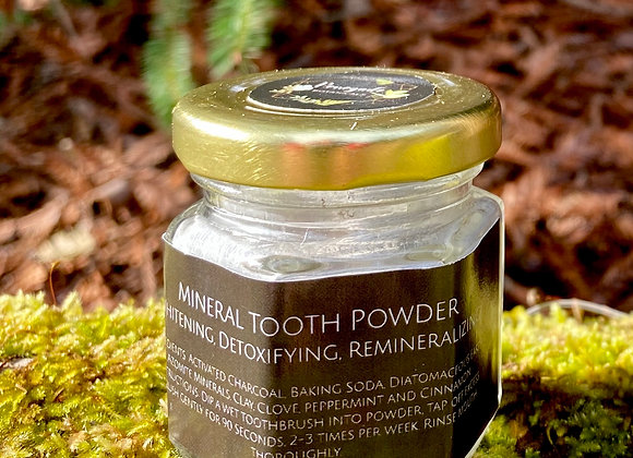 Whitening Mineral Tooth Powder