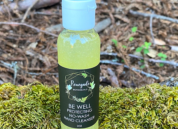 Be Well No-Wash Hand Cleanser