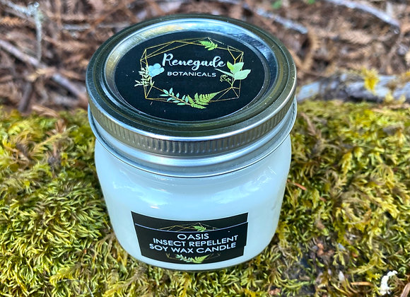 Oasis Insect Repellent Soy Wax Candle