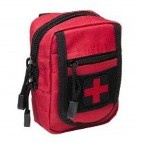 VISM® by NcSTAR® COMPACT TRAUMA KIT/ LEVEL 1/ RED WITH BLACK TRIM