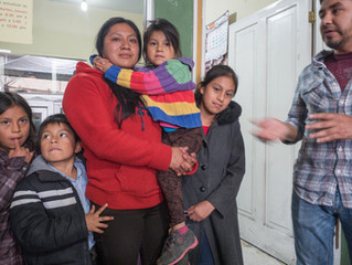 Meeting the families for Habitat