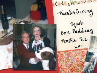 Thanksgiving with Bette Davis
