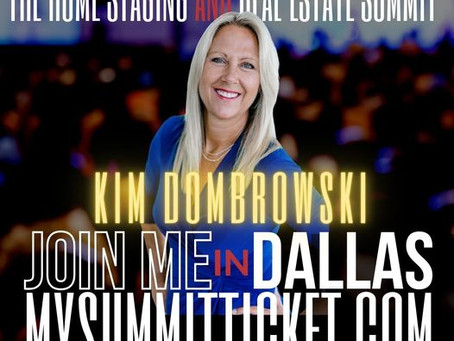 Kim Dombrowski will be at the 8th Annual Home Staging and Real Estate Summit 20201.