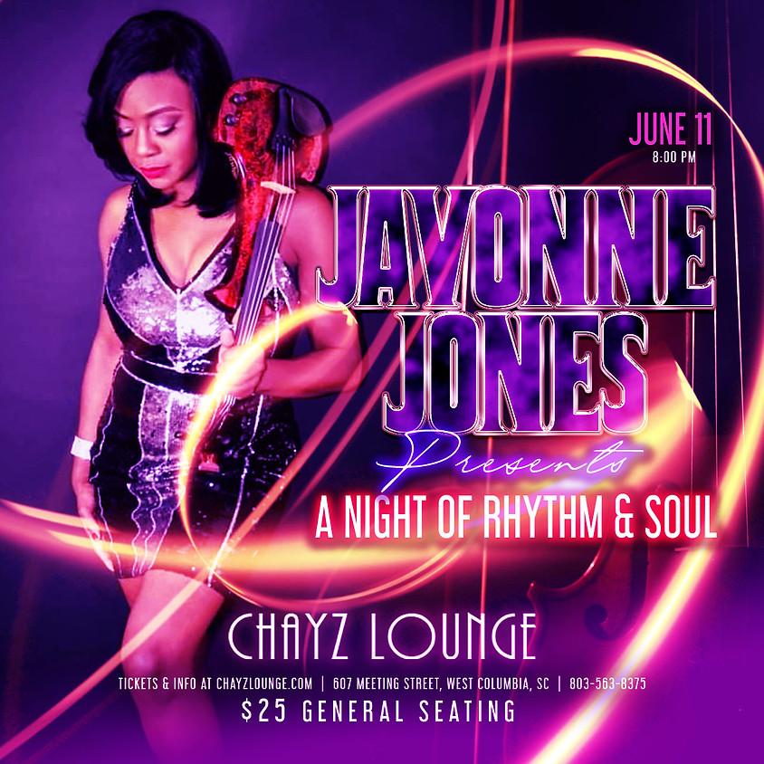 JaVonne Jones at Chayz Lounge