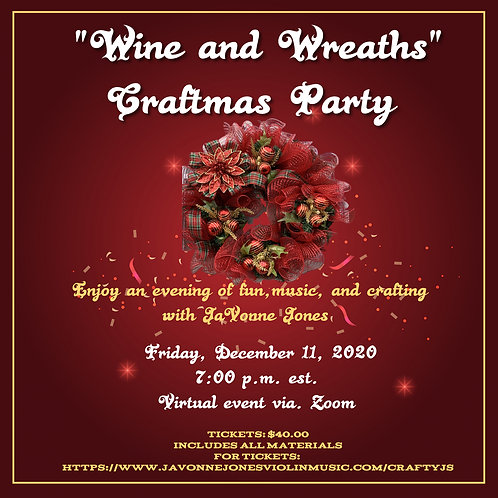 Wine and Wreaths Craftmas Party