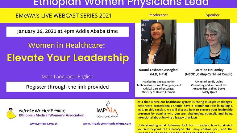 Women in Healthcare: Elevate your Leadership