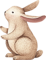 Zeichnung von Kaninchen